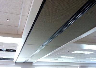 Skyfold ceiling tiles
